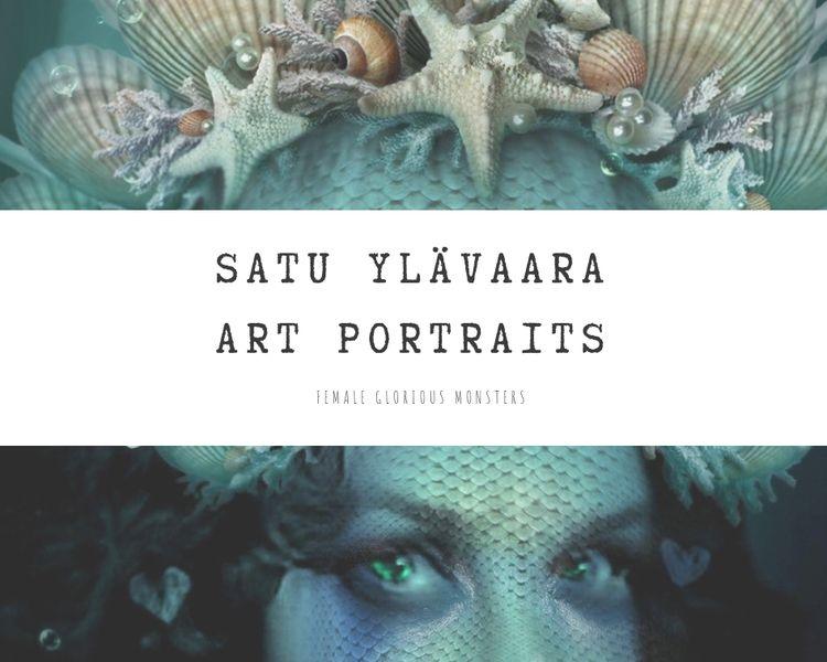 Female monsters portraits. Fasc - satuy | ello