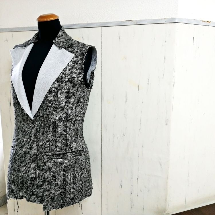Enjoy process - tailored, fashiondesigner - redrose_fd | ello