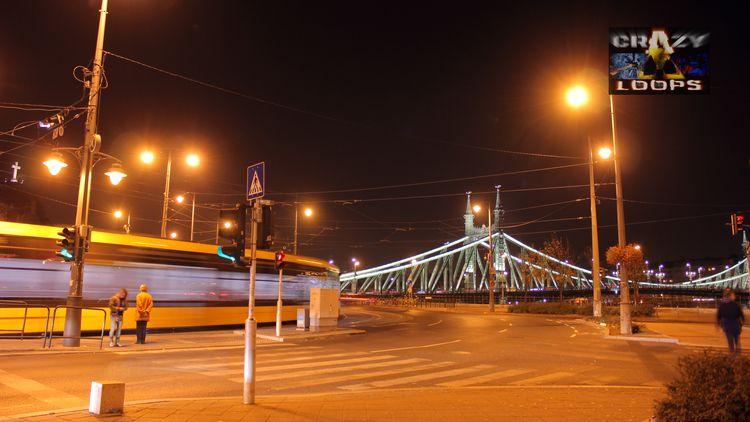 Budapest night - hungary, budapest - crazy_loops | ello