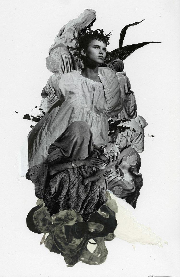 "fig. 164"", 2019 - collage, collageart - curtispatrickarnold | ello"