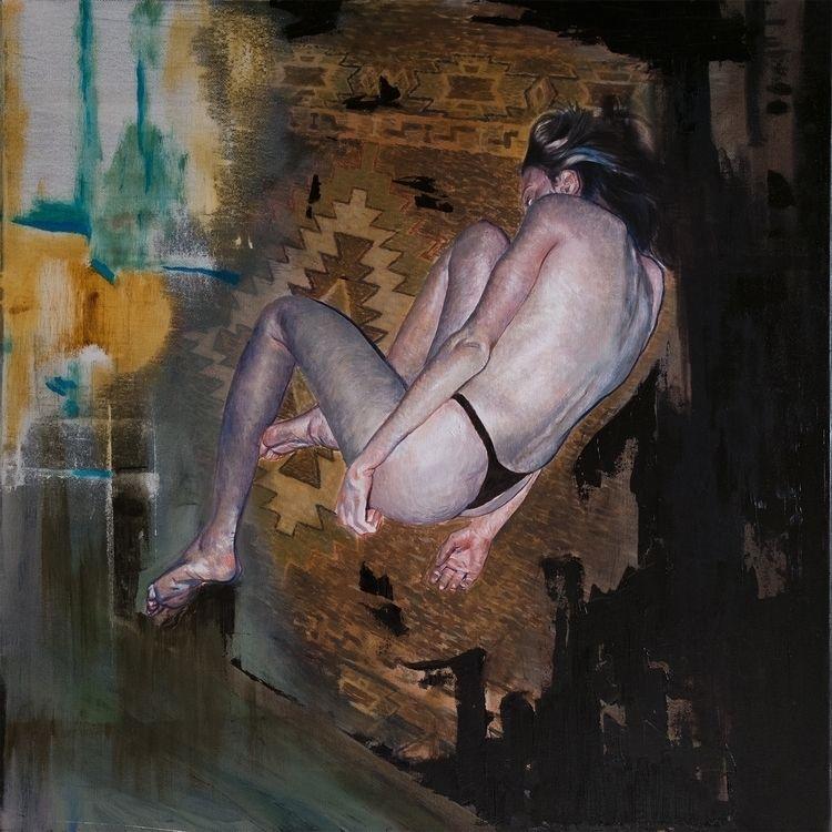 "oil canvas 24x24 ""Reason lost b - nannerlsbrother | ello"