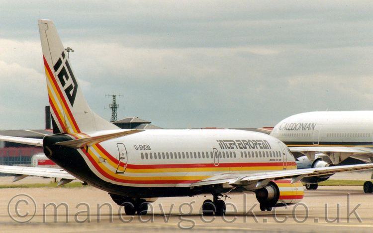 Boeing 737-3Y0, InterEuropean A - mancavgeek | ello