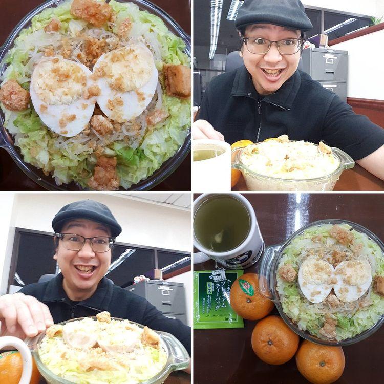 Rice Noodles Egg, Pork Cracklin - vicsimon | ello