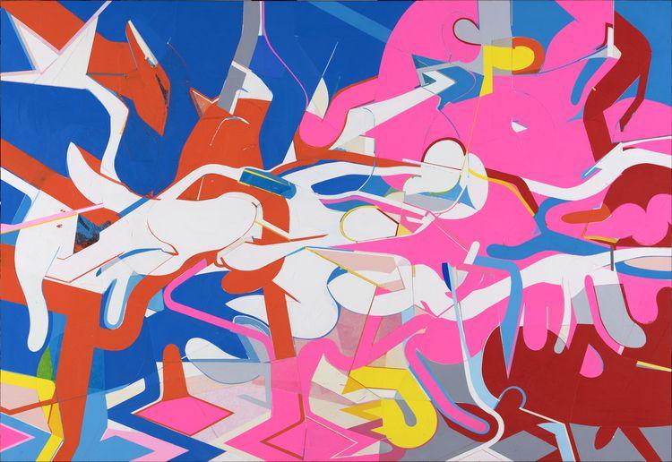 Untitled, 2019 Acrylic paper wo - kazuhirohigashi | ello