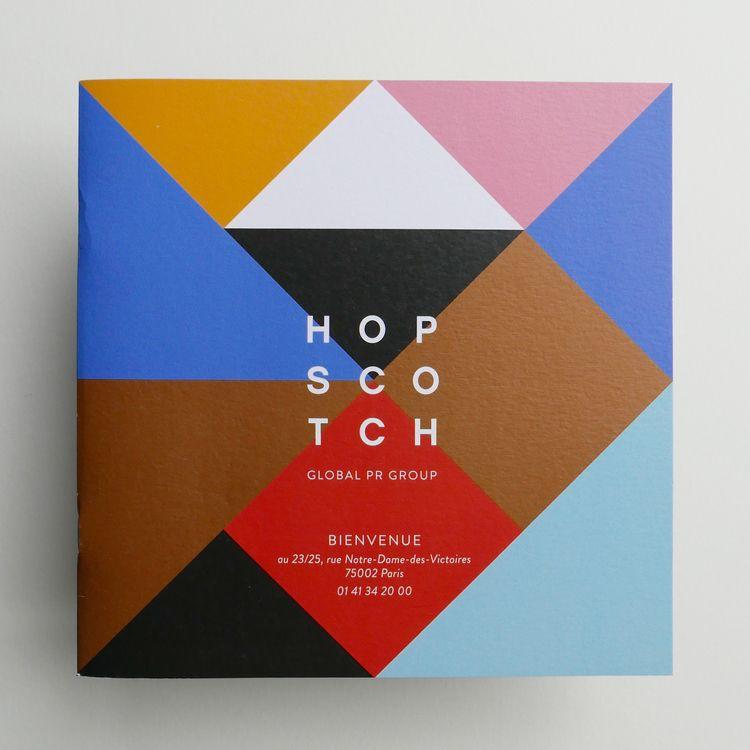 HOPSCOTCH - branding, logo, print - selinaebert   ello