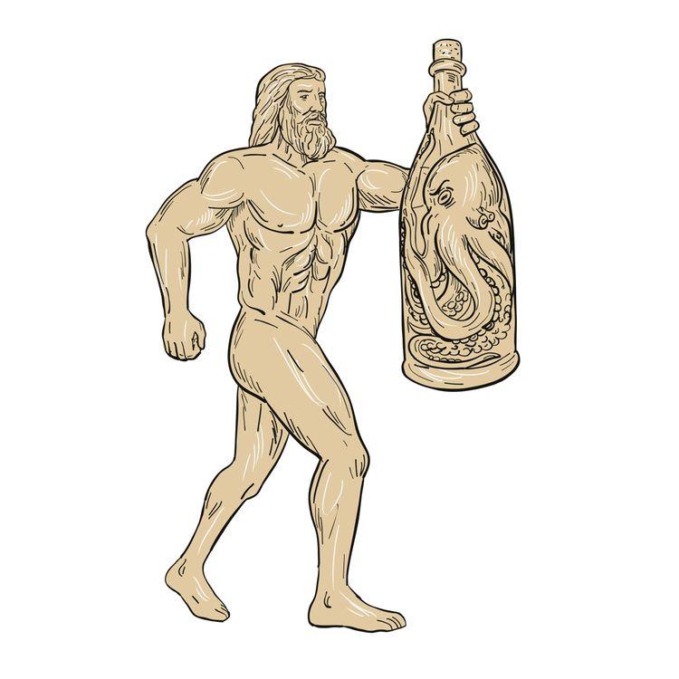 Hercules Bottled Angry Octopus  - patrimonio | ello