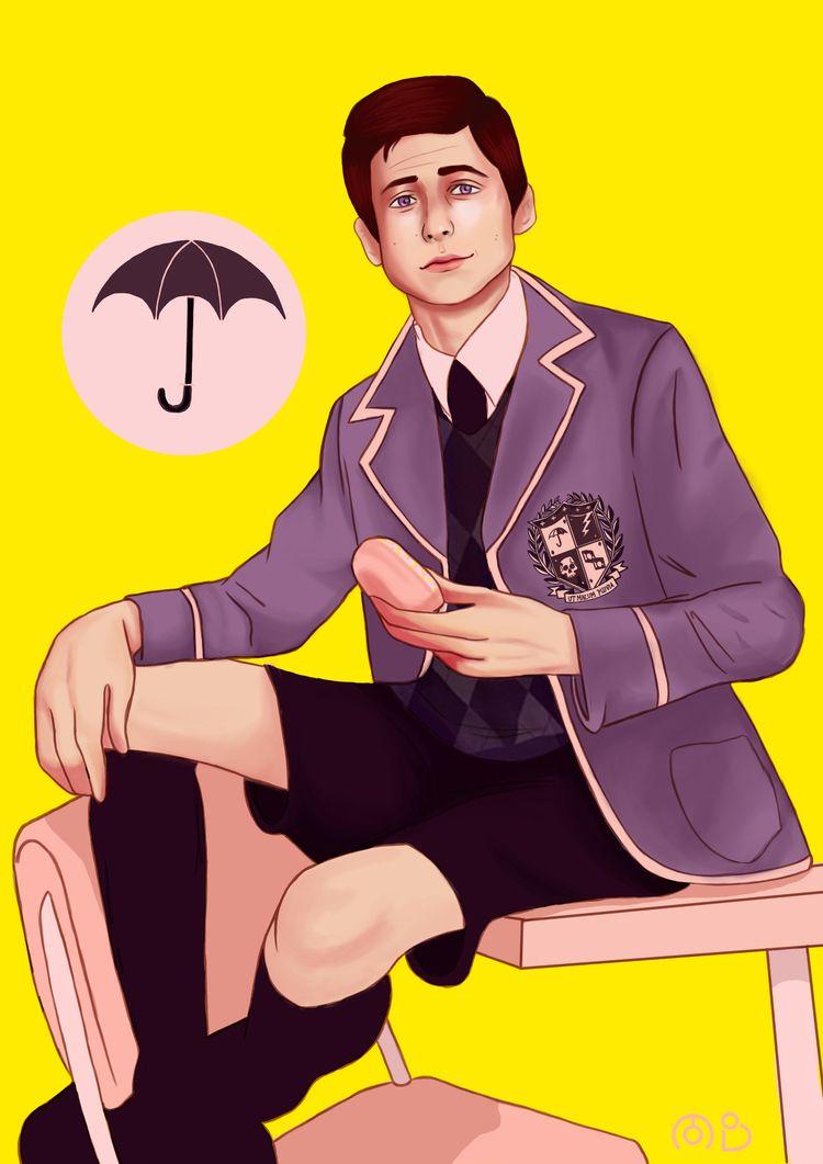 Number 5 Umbrella Academy - emjay-bee   ello
