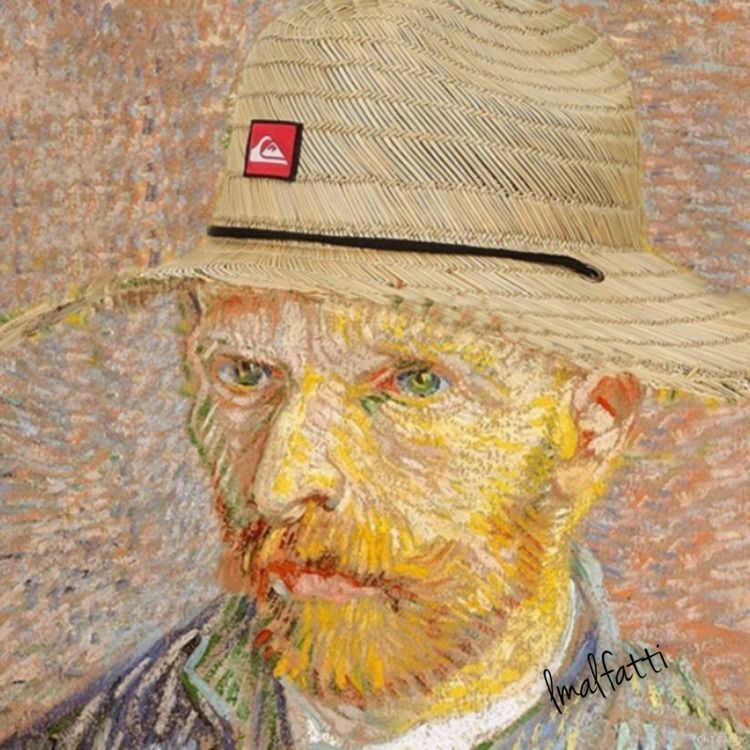 Van Gogh é pop - vangogh, photocollage - luismalfatti | ello