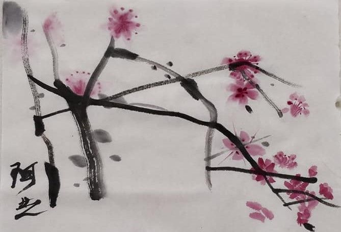 Chinese painting workshop - therealmatthew | ello