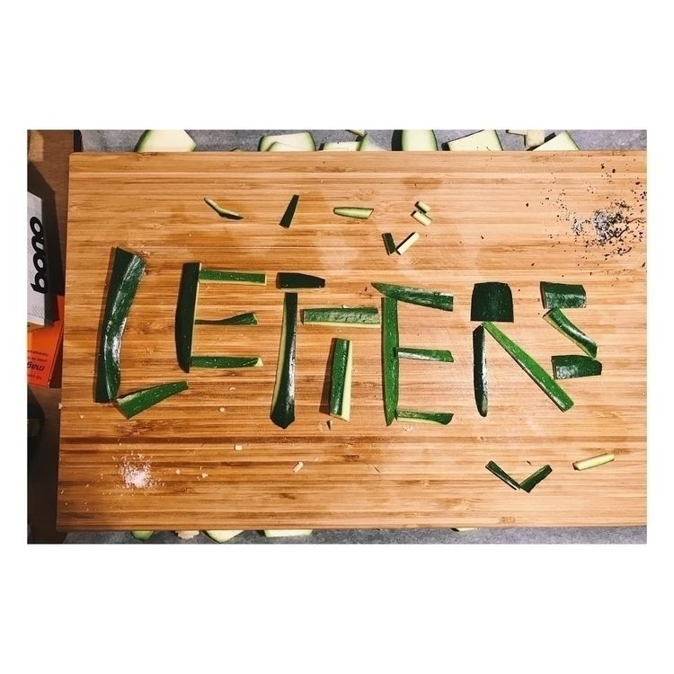 cook letters. eat - whenadrianagetscreative - when-adriana-gets-creative | ello