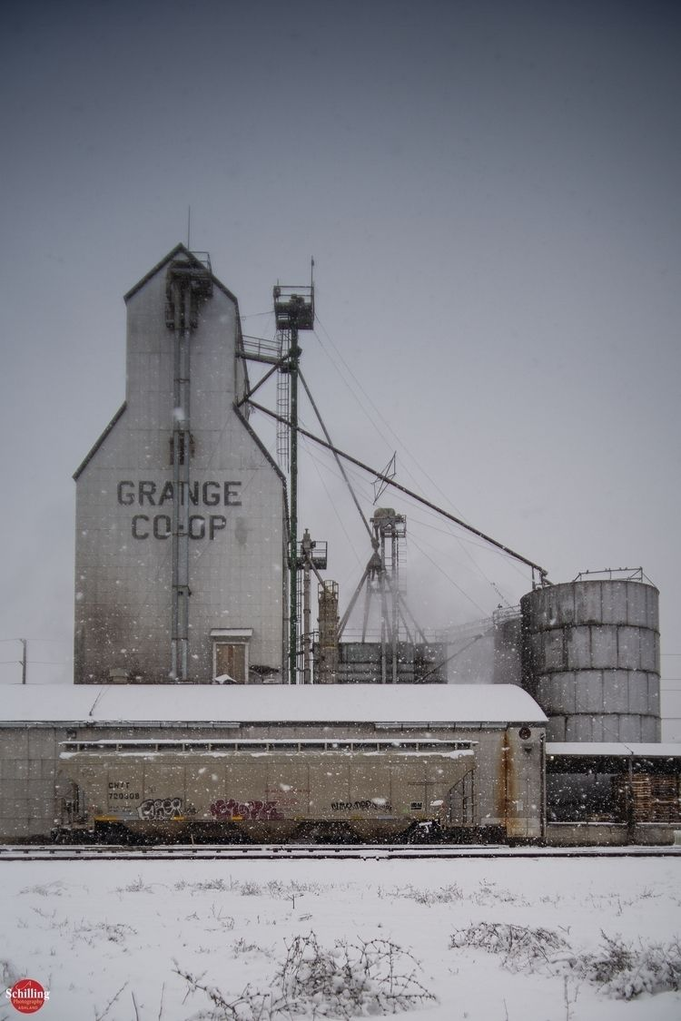 Snow Day; Grange Co-op Fertiliz - augustschilling | ello
