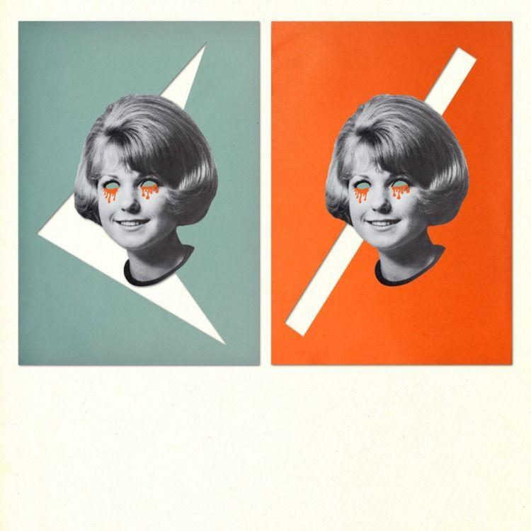 Double Judy, Digital Collage. 2 - keysgoclick | ello