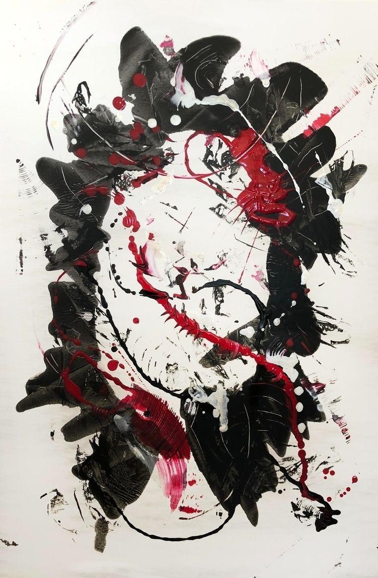 Faces' mixed media canvas, 24 3 - cnshouse | ello