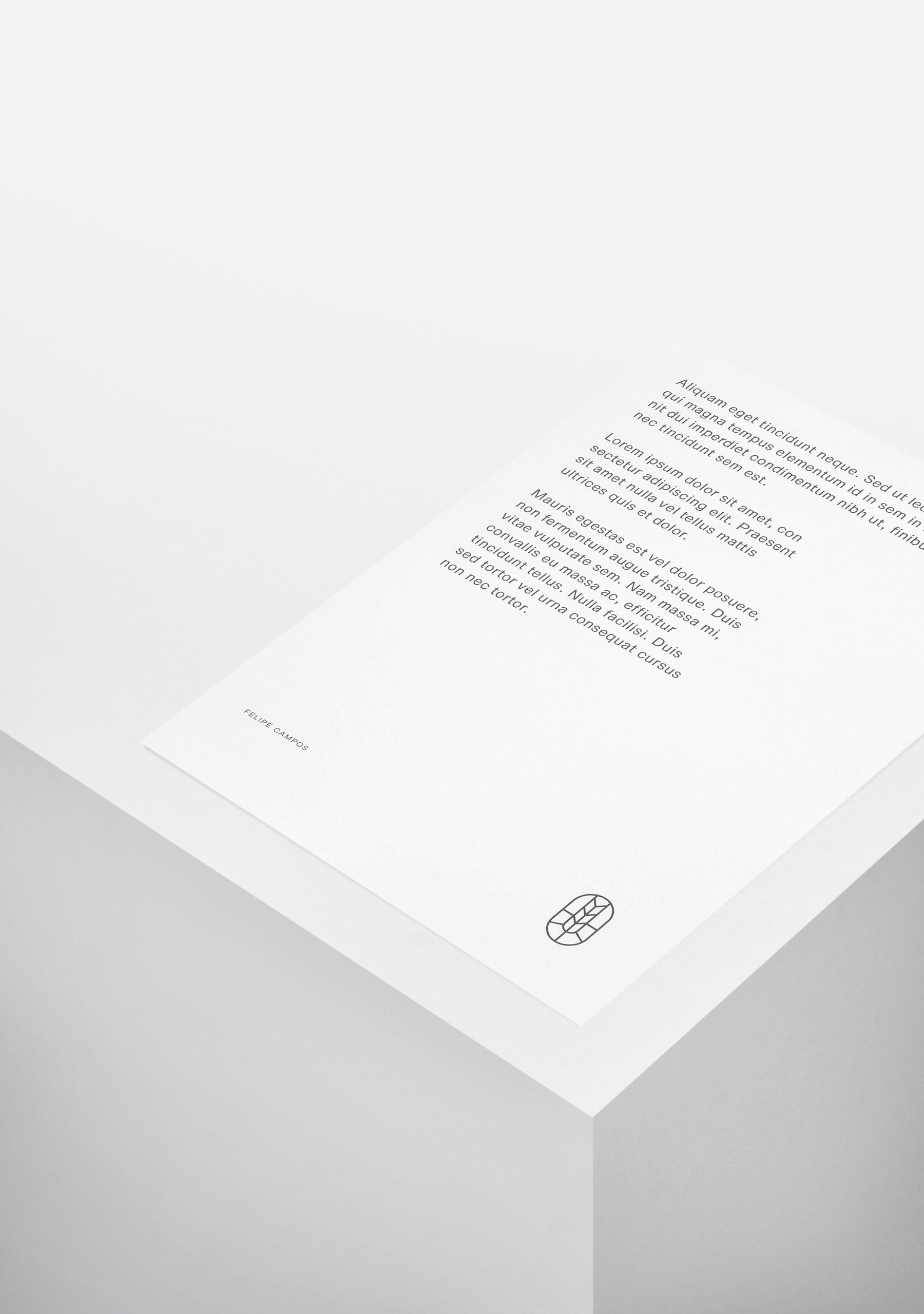 Proposal layout Felipe Campos.  - cesarebrand | ello