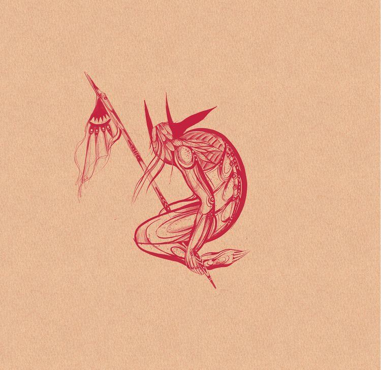 < tattoo design &gt - illustration - boria | ello