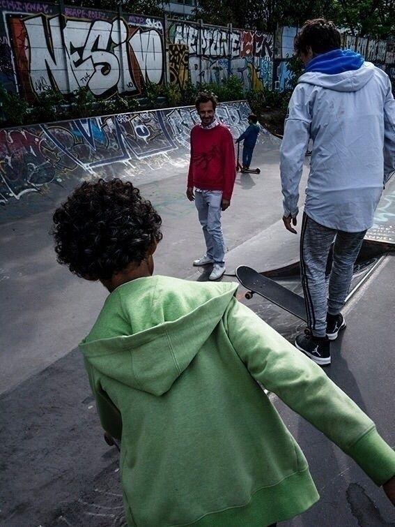 skate, skateboard, child, enfants - clemanquetil | ello