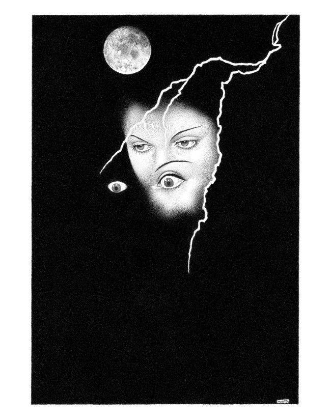 Illustration poem Wig Bride Fra - renzorazzetto | ello