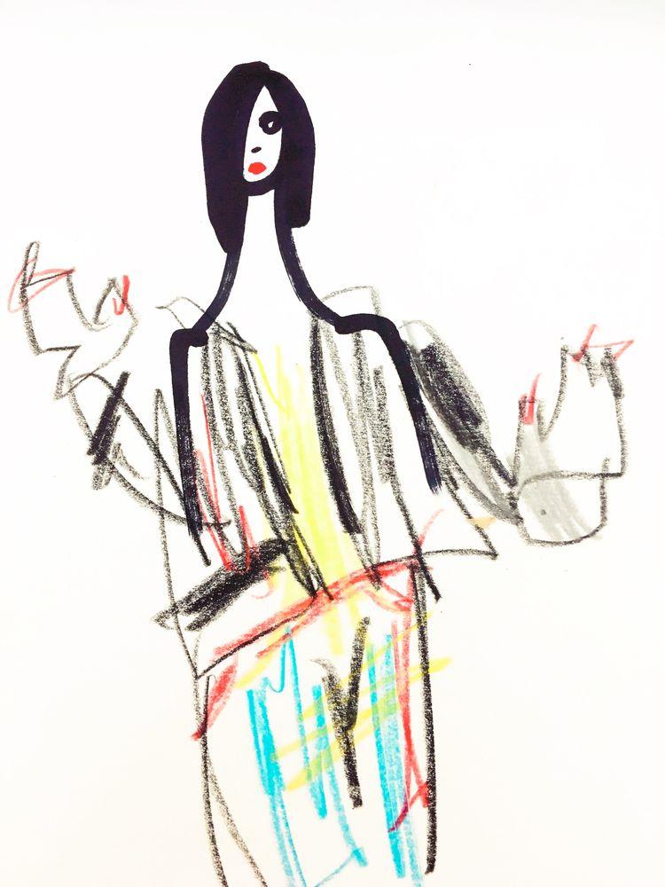 Untitled Portrait pencil paint  - jkalamarz | ello