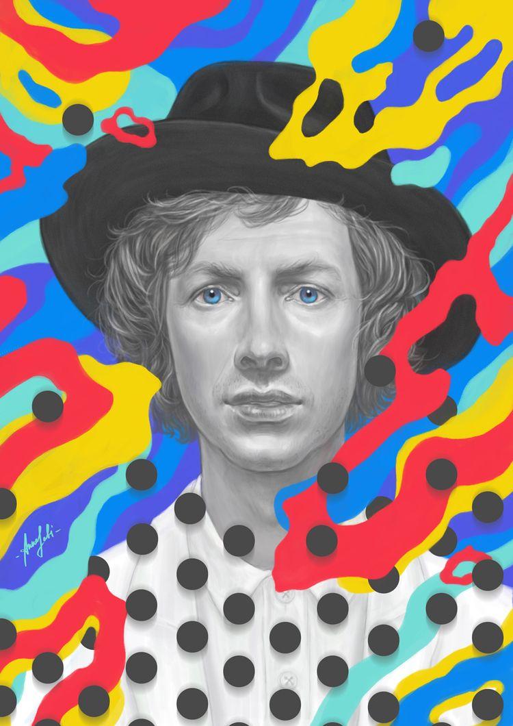 ' Beck digital artwork (based a - annaorca | ello