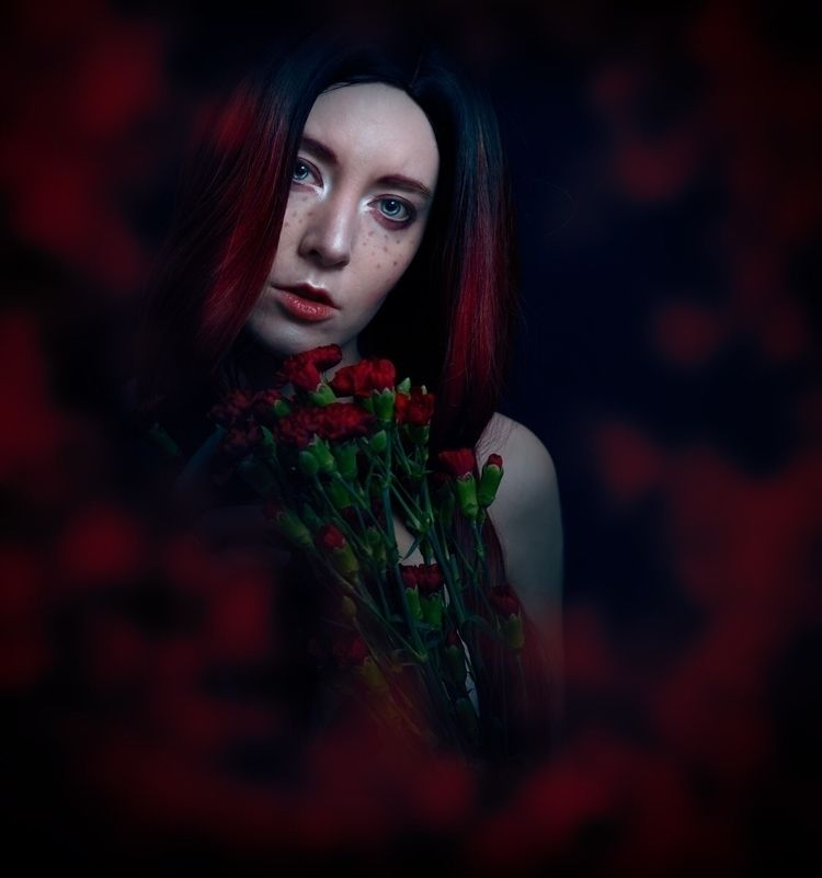 "Eyes"" – Photographer/Model: Rom - darkbeautymag | ello"