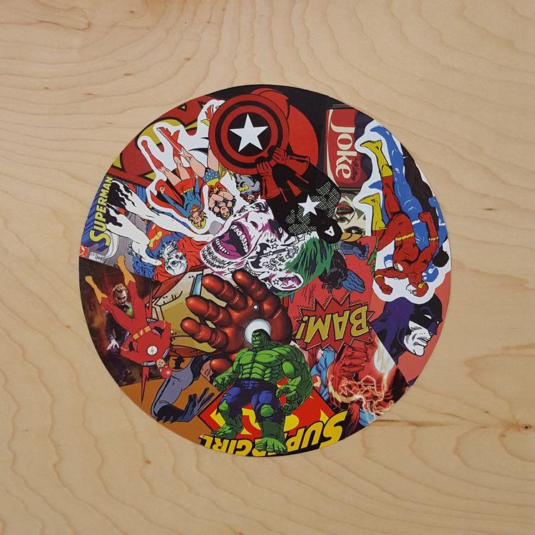 Multiverse - 12 2 vinyl sticker - markbueno | ello