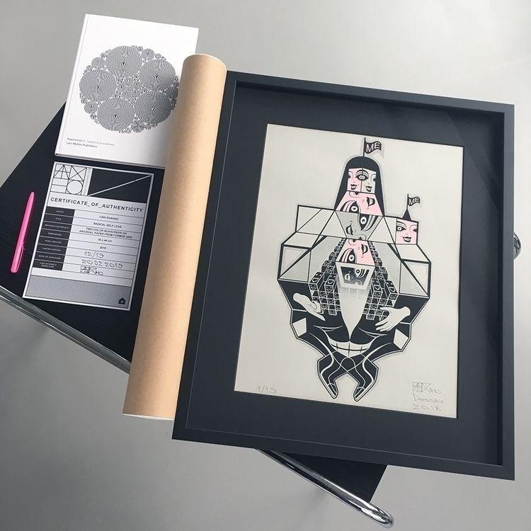 """RADICAL LOVE"" Silkscreen Print - lisashahno | ello"