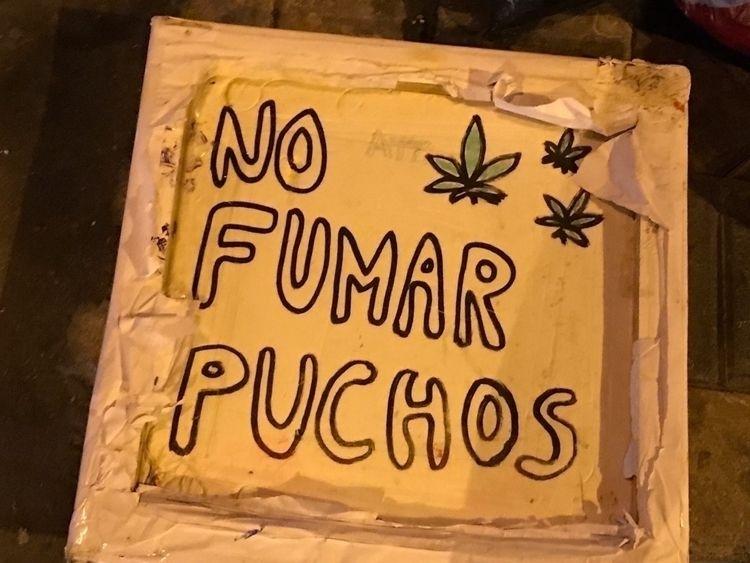 smoke Puchos Drawing street Mir - ellocannabis | ello