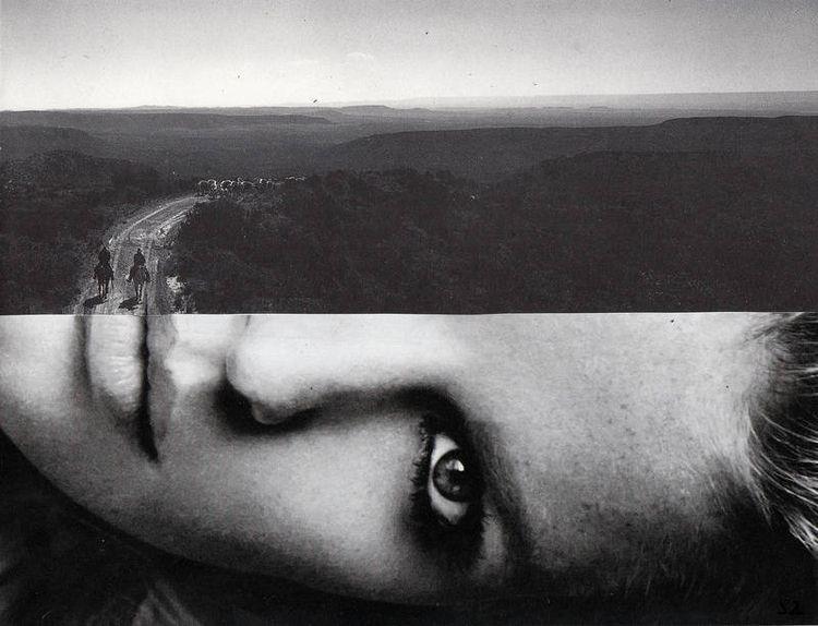 paper collage (2016 - analog, cutandpaste - annasandalaki | ello