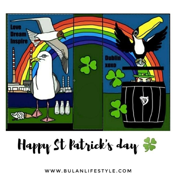 Happy St day - stpatricksday, illustration - bulanlifestyle | ello
