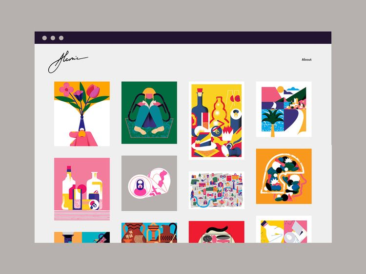 redesigned website uploaded lot - alconic | ello