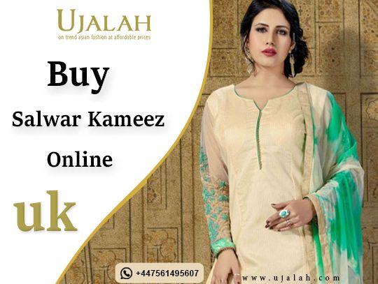 Buy Salwar Kameez Online Ujalah - ujalah | ello