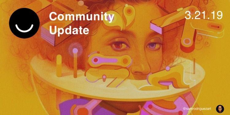 Community Update 3/21/2018 fina - elloblog   ello