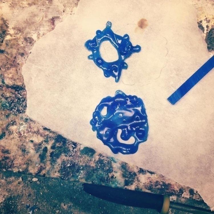 Lost wax casting test 🥰:purple - mariaelen | ello