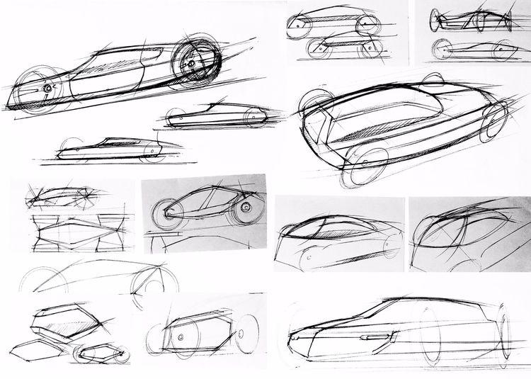 Automotive sketch doodles circa - jamesowendesign | ello