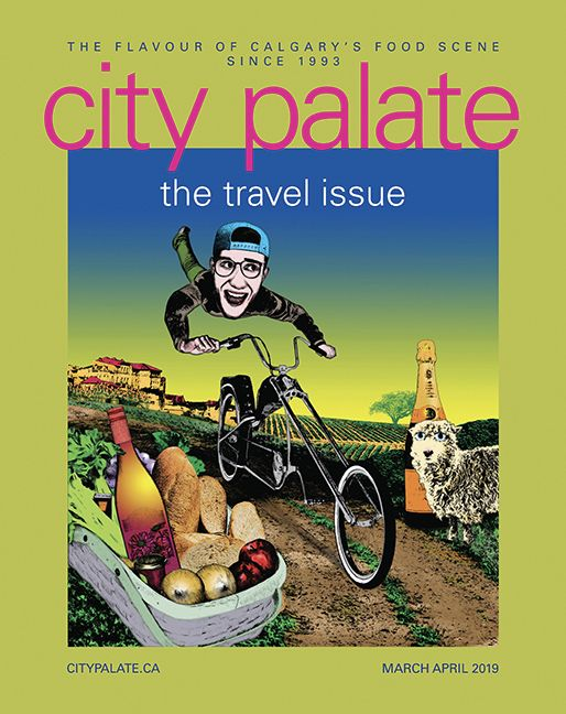 Cover image City Palate magazin - pariseau | ello