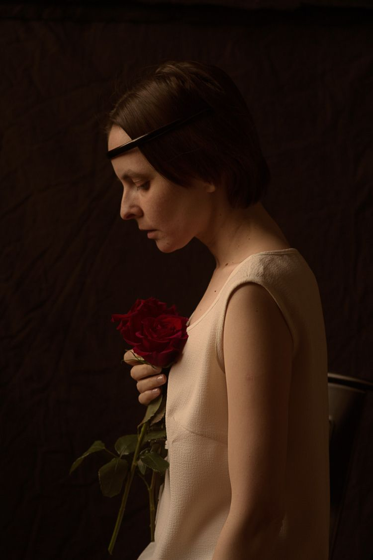 selfportrait, portrait - oxanaprikhodko | ello