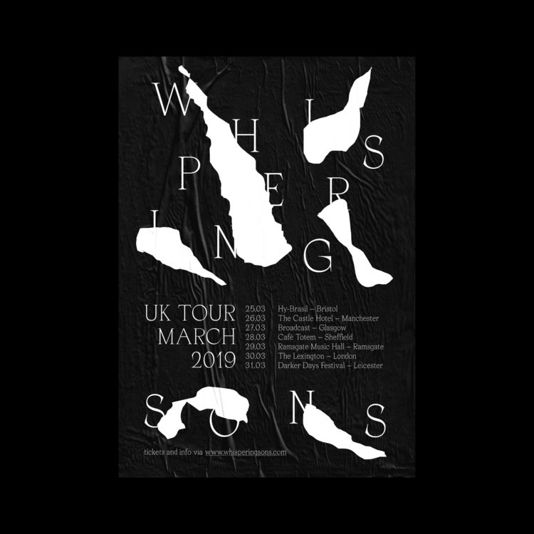 UK tour poster design Belgian w - skrewstudio | ello