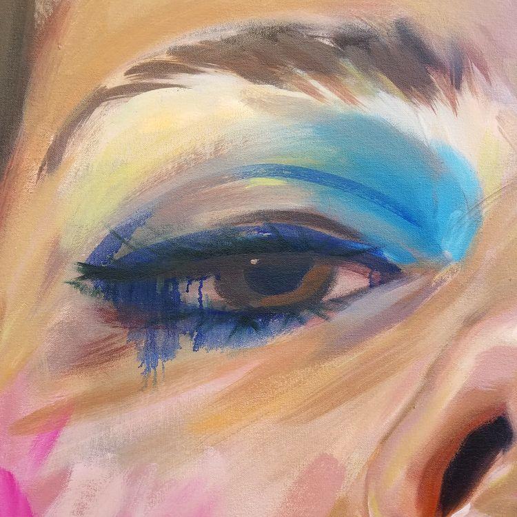 Big Eye progress - megankoth | ello