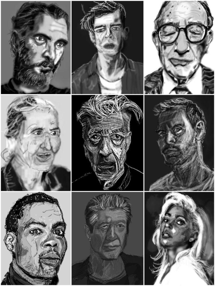 Sketching - zilmari | ello