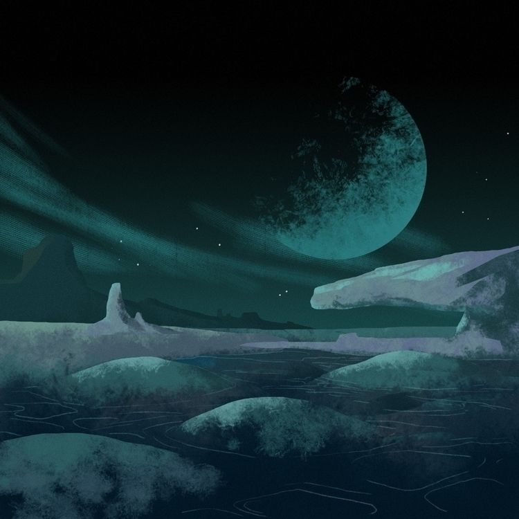 Swim - space, planet, cosmos - overmind | ello