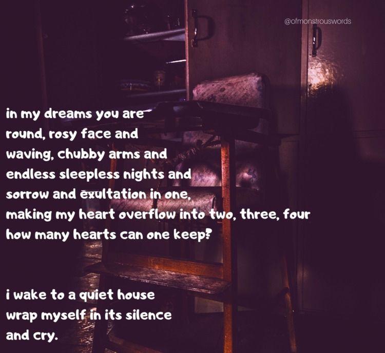 empty dreams rosy face waving,  - ofmonstrouswords   ello