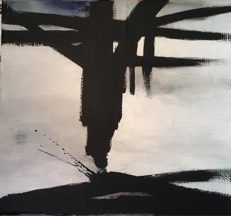 Untitled 2019 90x90cm - forsalebyartist - jap-art | ello