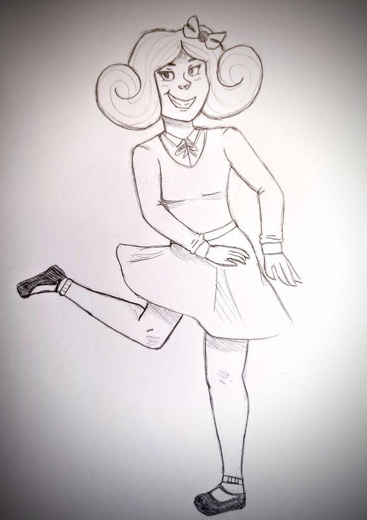 Oldish sketch Critiques welcome - ohvenna | ello