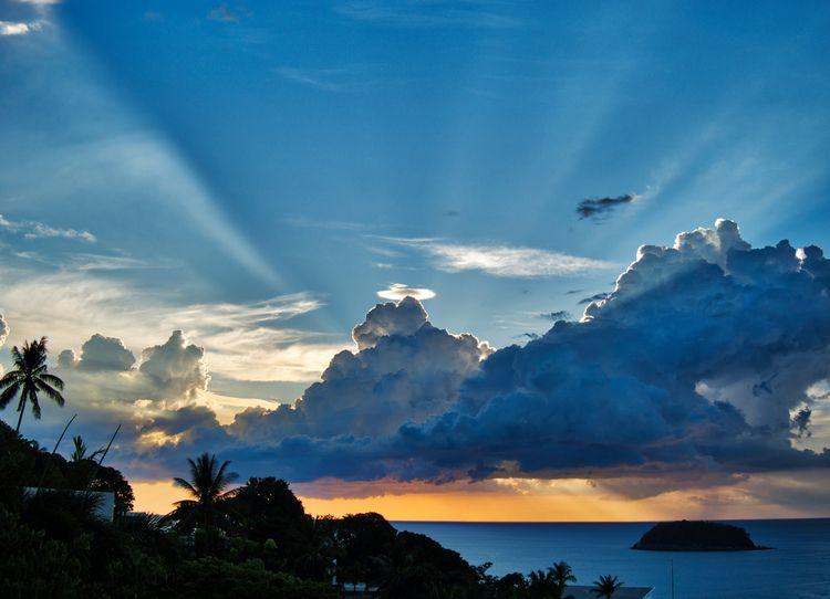 setting Sun cloud Kata Thailand - neilhoward | ello
