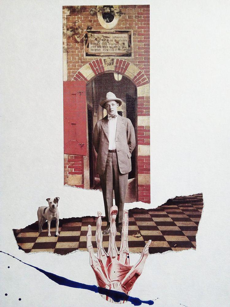 art, collage, cutandpaste, surreal - sanchezisdead | ello