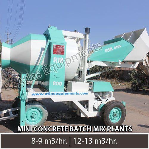 Mini concrete batch mix plant A - atlasequipment | ello