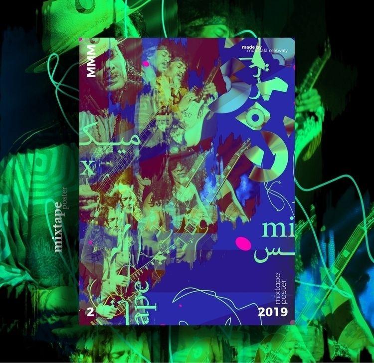 mixtape-  - art, digitalart, digitalartist - moustafamagdiee | ello
