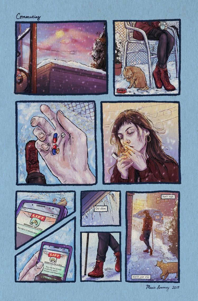 Sneak peek release newest comic - mariasweeney | ello