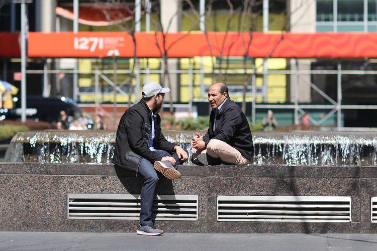 Talk couple guys conversation f - kevinrubin | ello