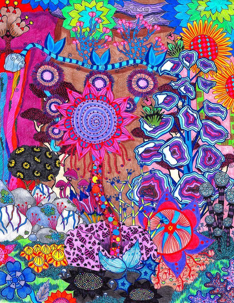crazy? finished pattern! hoping - okhismakingart | ello